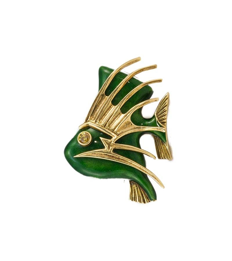 Cartier Tropical Fish Brooch