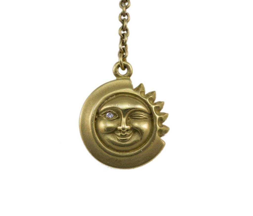 Keiseltein Winking Sun Pendant