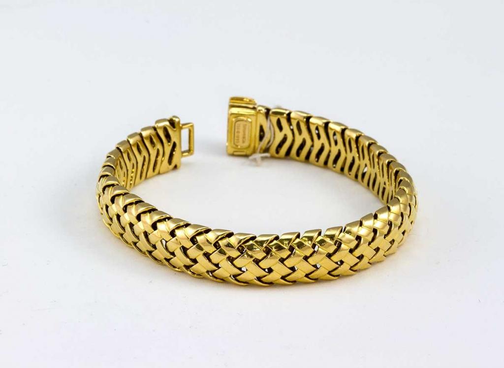 Tiffany & Co. Vannerie woven bracelet