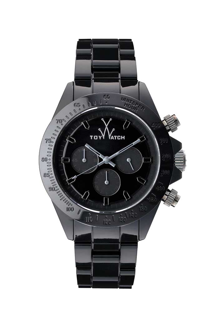 Toy Watch Monochrome Chrono Black
